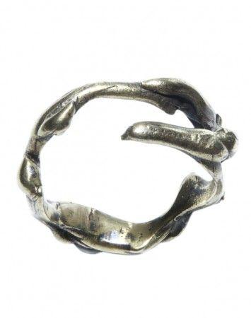ToniMay Elk brass ring