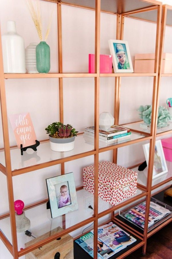 Shop Talk May Designs Copper Ikea Units And Copper