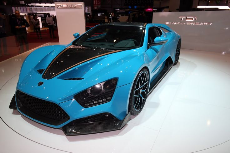 The Zenvo TS1 GT Anniversary Model Costs A Cool $1 Million