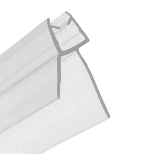 hnnhome shower screen seal glass thickness 46mm gap to seal 20mm