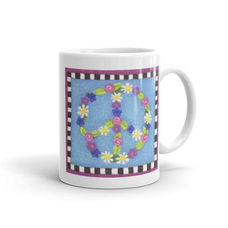 Now available in our store. Check it out here http://j-s-graphics.myshopify.com/products/pastel-flower-peace-sign-coffee-mug?utm_campaign=social_autopilot&utm_source=pin&utm_medium=pin