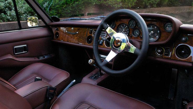 Bristol 412 Leather Interior