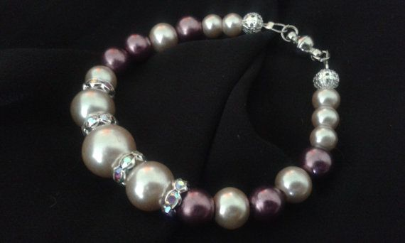 Pearly strands of goodness by BonesandGlitter on Etsy