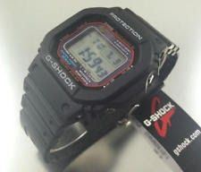Black Casio G-Shock 5600 Solar Atomic Watch GWM5610-1