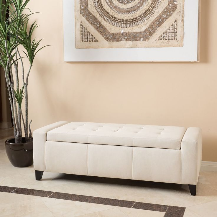 Kosas Home Fabric Storage Bedroom Bench Reviews: Guernsey Fabric Storage Ottoman Bench By Christopher