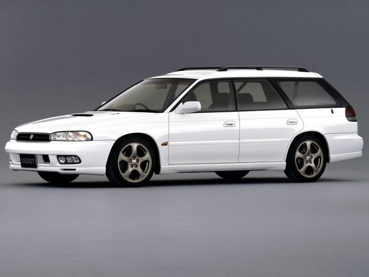 Subaru Legacy 2.0 GT-B Station Wagon (BD)  1996–1998   Look at those beauteous foglights :-0