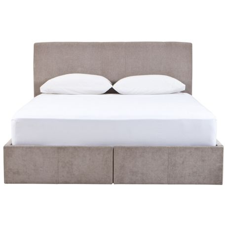 Monkwell Queen Bed with Drawer | Freedom Furniture and Homewares $1299 DRAWS!!