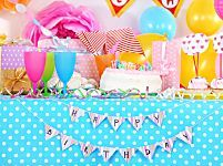Decorazioni per la festa di compleanno dei bambini fai da te