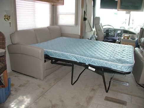 Jackknife Sofa Replaced With Hide A Bed Rv Ing