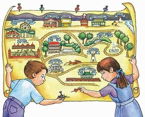 How to Create a Map for Children