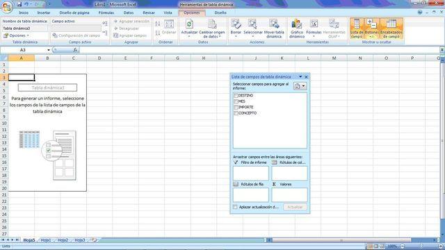 Practica las tablas dinámicas para aumentar las destrezas en el uso de esta estupenda herramienta de Excel.
