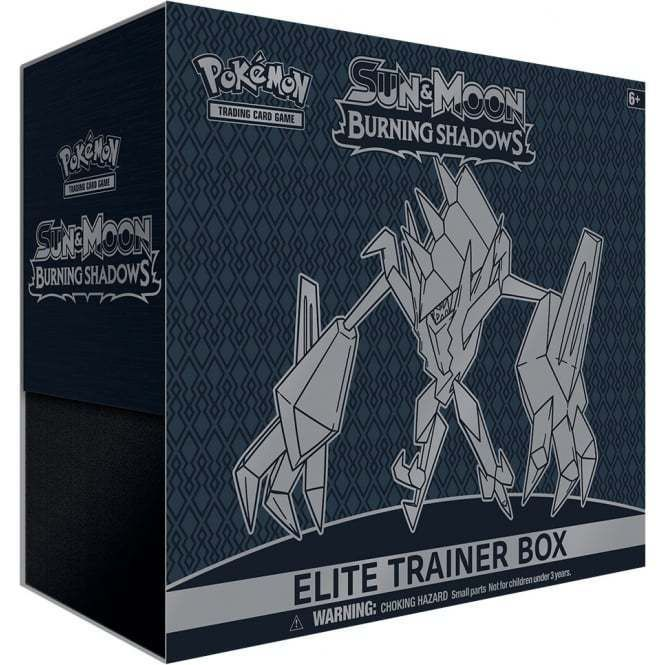 Other Pok mon TCG Items 2608: Pokemon Sun And Moon Burning Shadows Elite Trainer Box Releases 08 04 17 -> BUY IT NOW ONLY: $34.99 on eBay!