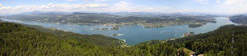 Panorama vom Wörthersee im Sommer  #wörthersee #austria #kärnten #lake #holiday