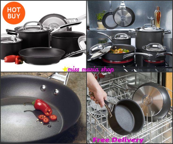 Circulon Pan Set Cookware Sets Aga Induction Frying Cooking Pots Pans 5 Infinite