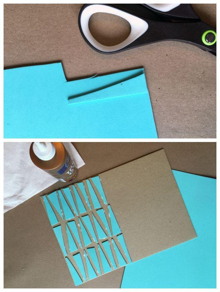 Love This Printmaking Technique: Foam Shapes