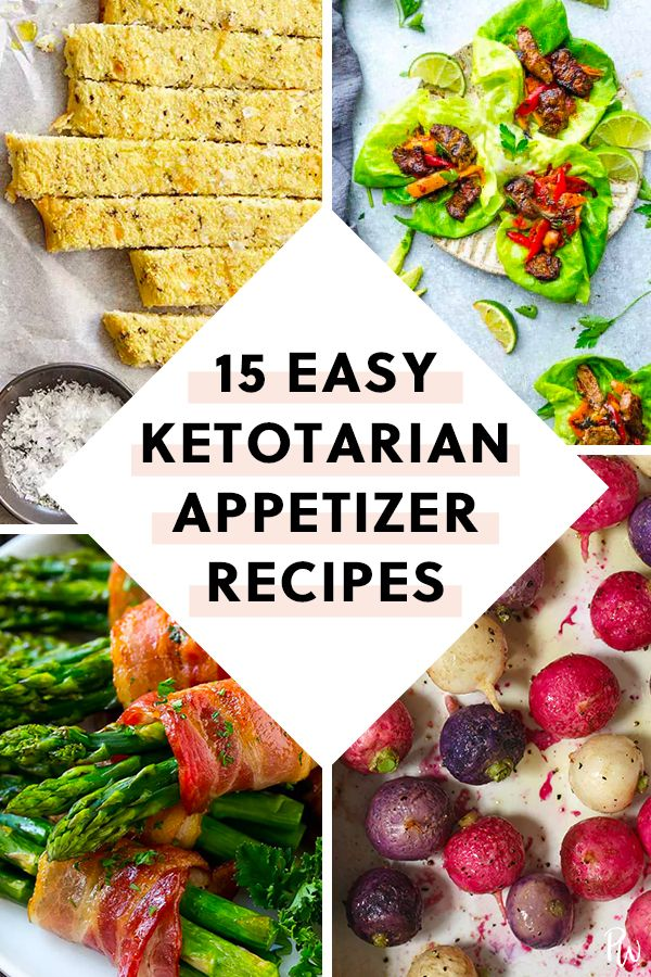 13 Easy Appetizers That Are On The Ketotarian Diet Appetizers Easy Ketogenic Diet Meal Plan Vegetarian Appetizers