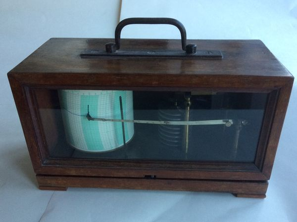 Barograph - Probably the Earliest Surviving, Richard Freres