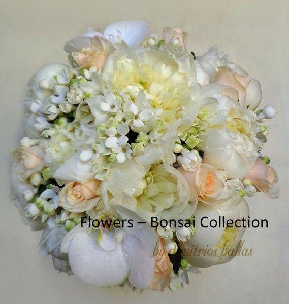 Εδώ θα βρεις φωτογραφίες για νυφικές ανθοδέσμες από το Flowers Bonsai Collection by dimitrios ballas