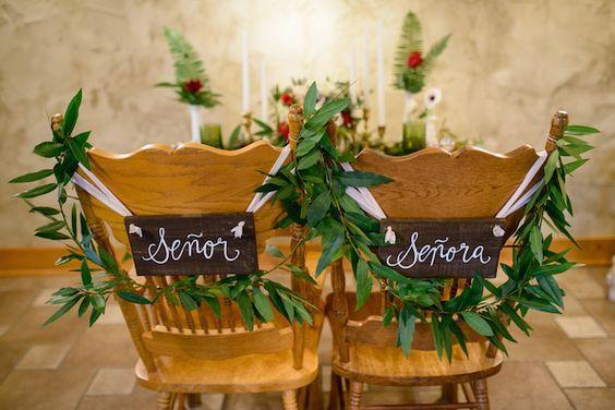 chaise des maries mariage espagnol