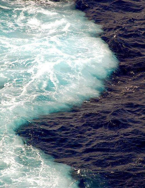 The Sea Barrier Miracle : Where Two Oceans Meet But Do Not Mix. Gulf of Alaska! ~ Design