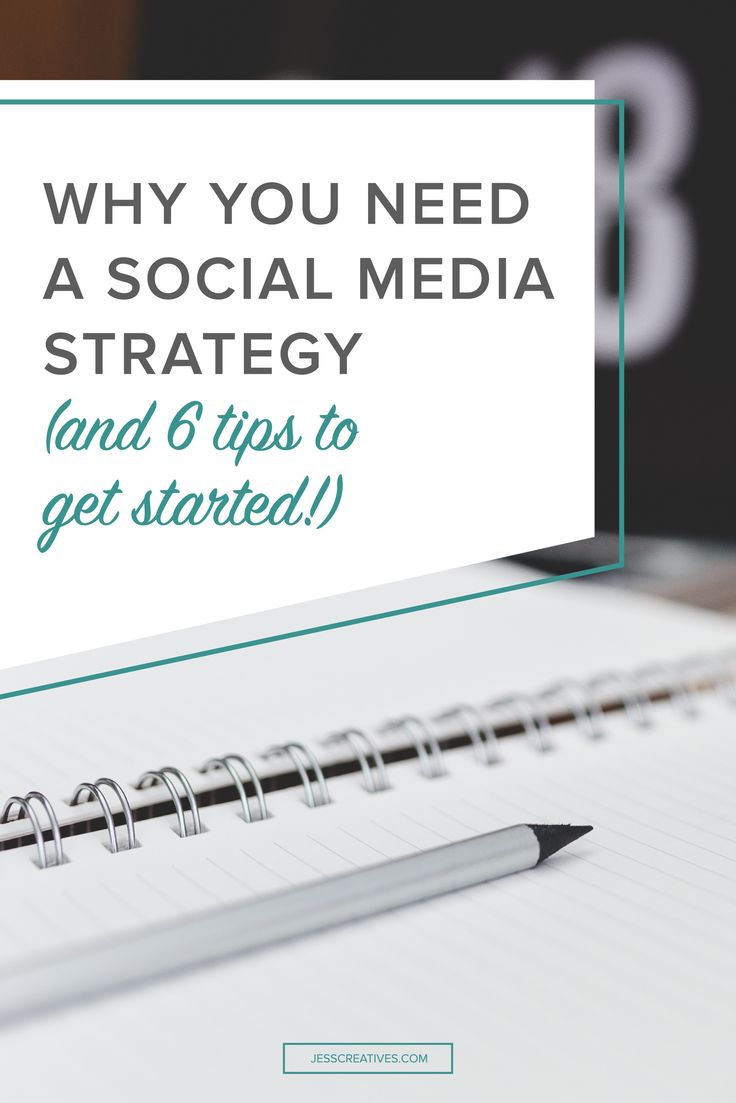 Why you need a social media strategy (and 6 tips to get