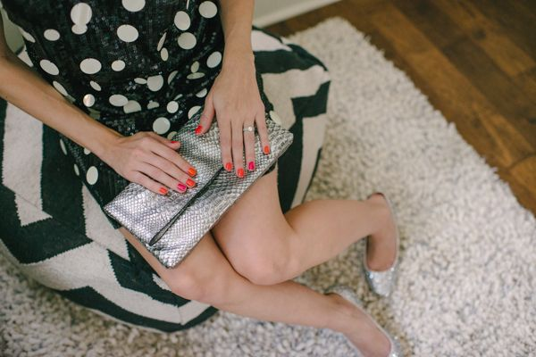 Juicy Couture Cocktail Dress + Jade Clutch #glitterinjuicy #givemewhatIwant (photo by Delbarr Moradi Photography / delbarrmoradi.com)