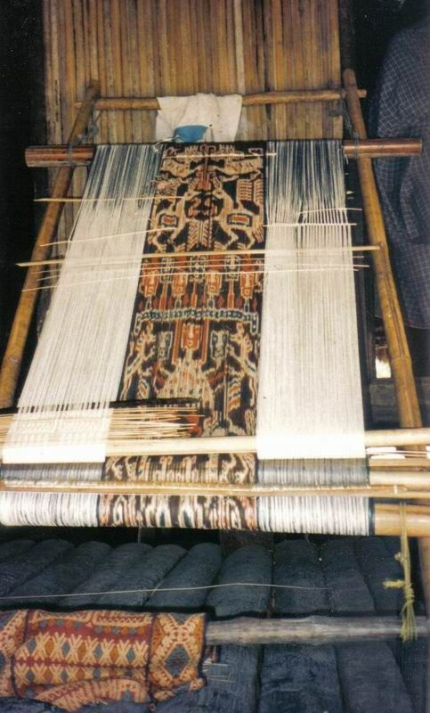 Sumba, traditional ikat cloth