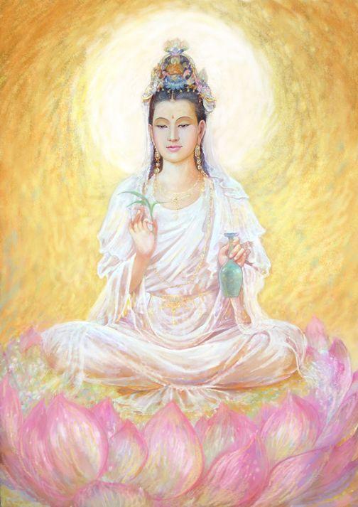 "pansatyriam: "" Kuan Yin, Bodhisattva of Compassion """