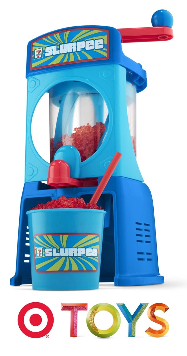 Make your own delicious Slurpees, just like the ones they have at 7-Eleven, with your very own Slurpee drink maker.