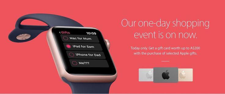 Black Friday : Apple offre seulement des cartes cadeau