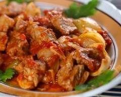 Veau créole (facile, rapide) - Une recette CuisineAZ