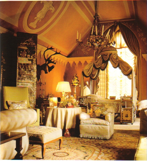 Nancy Lancaster's own bedroom at Haseley Court may be the most beautiful recorded bedroom I have seen, pure magic.