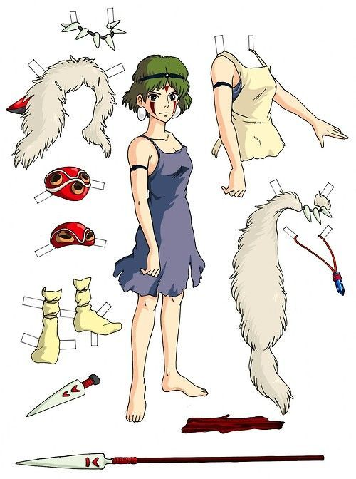 San from Princess Mononoke                                                                                                                                                                                 More
