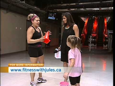 ▶ Kids Summer Workouts with Fitness with Jules - YouTube
