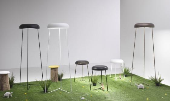 Trepiè podłogowa (Biała, Duża) - Vesoi | Designerskie Lampy & Oświetlenie LED
