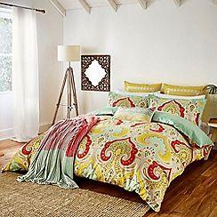 multicoloured 'Jaipur' bed linen