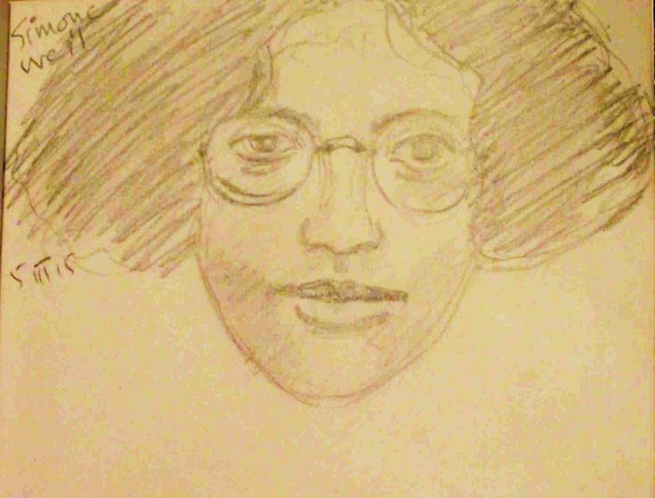 Simone Weil. Philip Weaver 5 March 2015