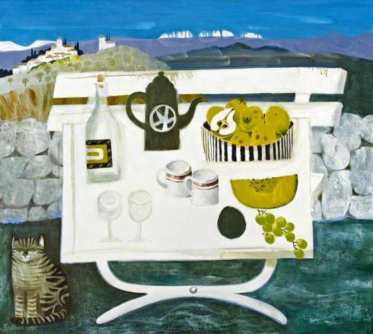 Mary Fedden I love her colours and quirky compositions