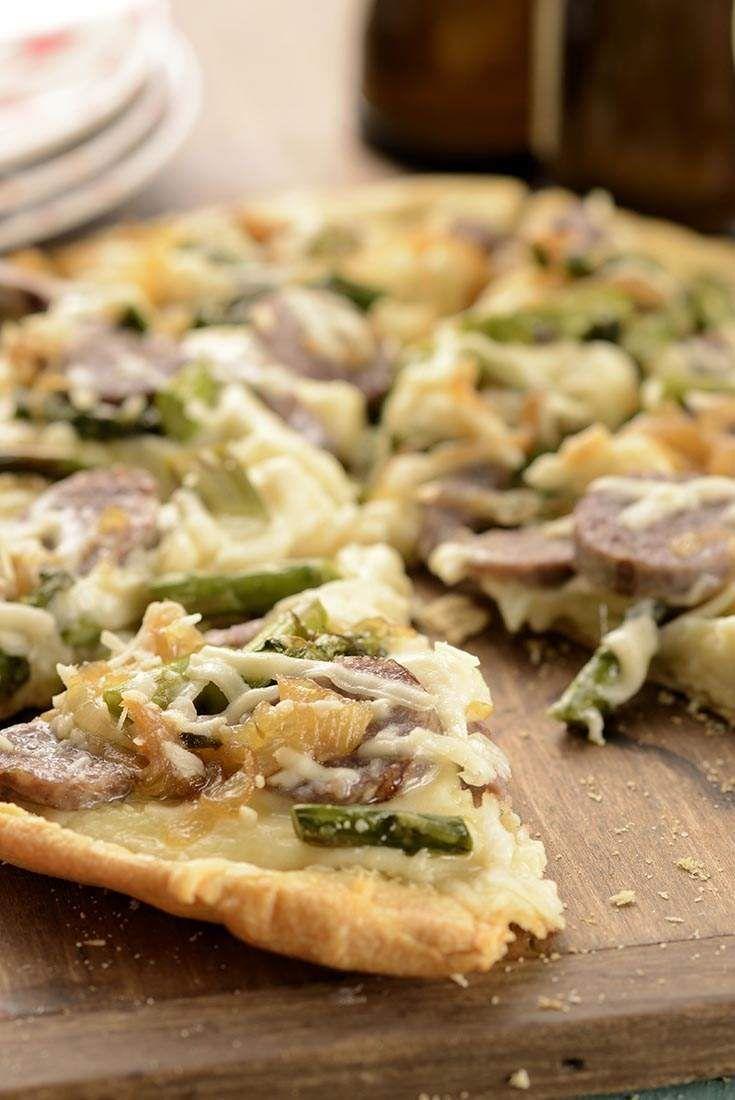 Ultra-Thin Pizza Crust  Recipe