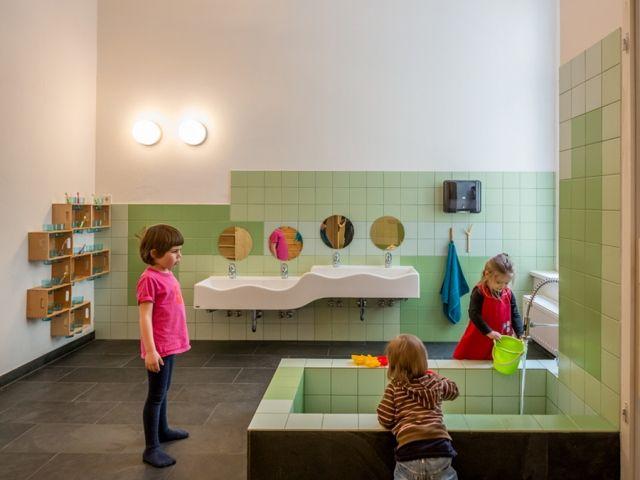 Kita Drachenh Hle By Baukind News Frameweb Children Childcare School Design For Joel