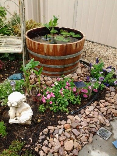 Barrel Fish Pond Images Frompo