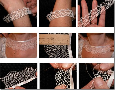How to Lace Lace Palestinian. Tutorials