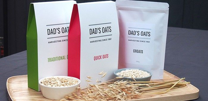 Dad's Oats are wholesale suppliers of Traditional, Quick, Steel Cut or Groats. Available in both retail and foodservice size packets / buckets.