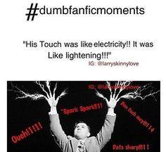 dumb fanfic moments   Dumb Fanfic Moments.