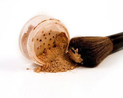 Summer Skin Care Tip: Switch to powder foundation, which will absorb oil.