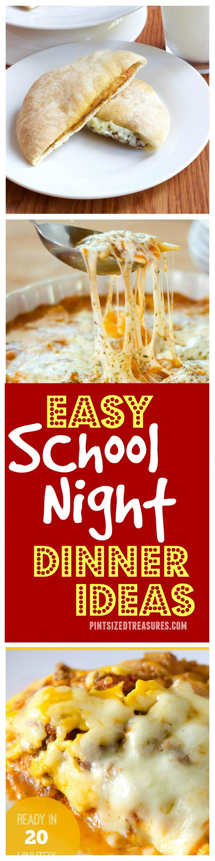 Enjoy a stress-free week with these easy after school dinner ideas that your kids will LOVE! AD ReallyReallyTasty @alicanwrite