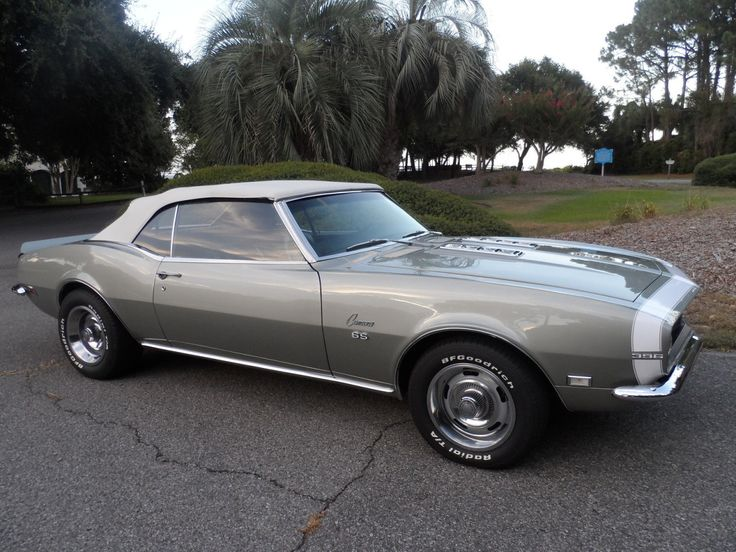 Just don't make them like the old days. CHEVROLET CAMARO