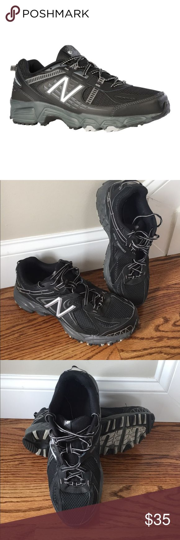 EUC! New Balance All Terrain Sneakers EUC! New Balance All Terrain Sneakers. Excellent arch support, stylish black and gray details. Barely worn. Size 10.5 New Balance Shoes Athletic Shoes