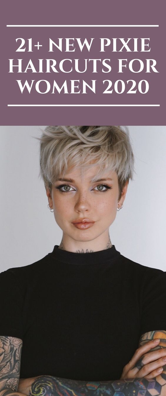 21 New Pixie Haircuts For Women 2020
