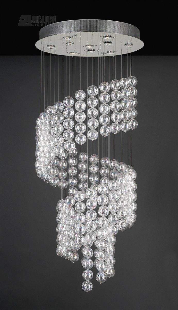 best  modern crystal chandeliers ideas on pinterest  crystal  - modern crystal chandeliers  plc lighting oxygen contemporary crystalchandelier  plcpc